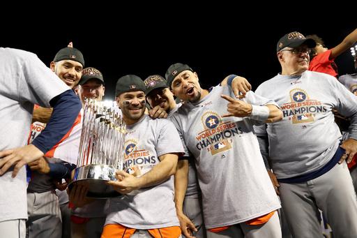 MLBコミッショナー、サイン盗みアストロズのWSタイトル剥奪を否定