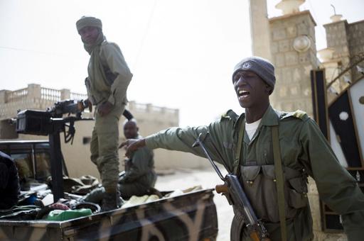 マリの世界遺産都市で戦闘、イスラム武装勢力が攻勢