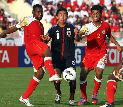 日本、岡崎の決勝ゴールでオマーン下す W杯アジア最終予選