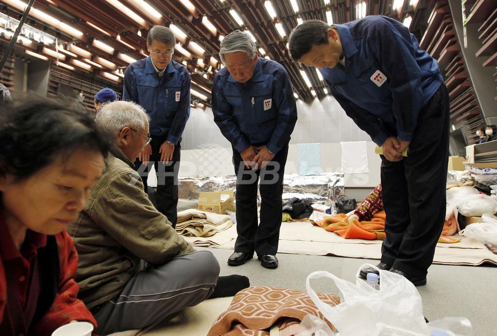 政府内で東京電力の一時国営化案が浮上