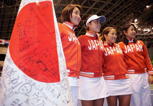 日本 第5試合ダブルスも制しワールドグループⅡ・1回戦を4勝1敗で終える