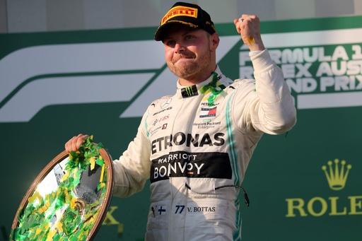 ボッタスが開幕戦オーストラリアGPを制覇、王者ハミルトンに大差
