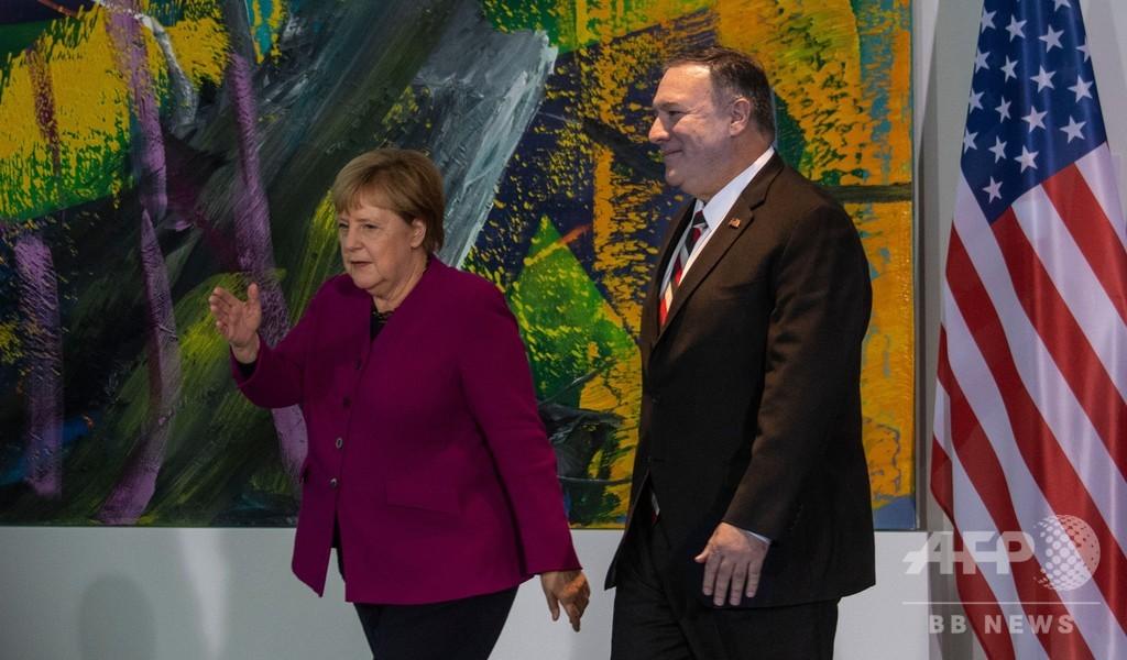 米EU、ロシアと中国の危険性に警鐘 ベルリンの壁崩壊30年