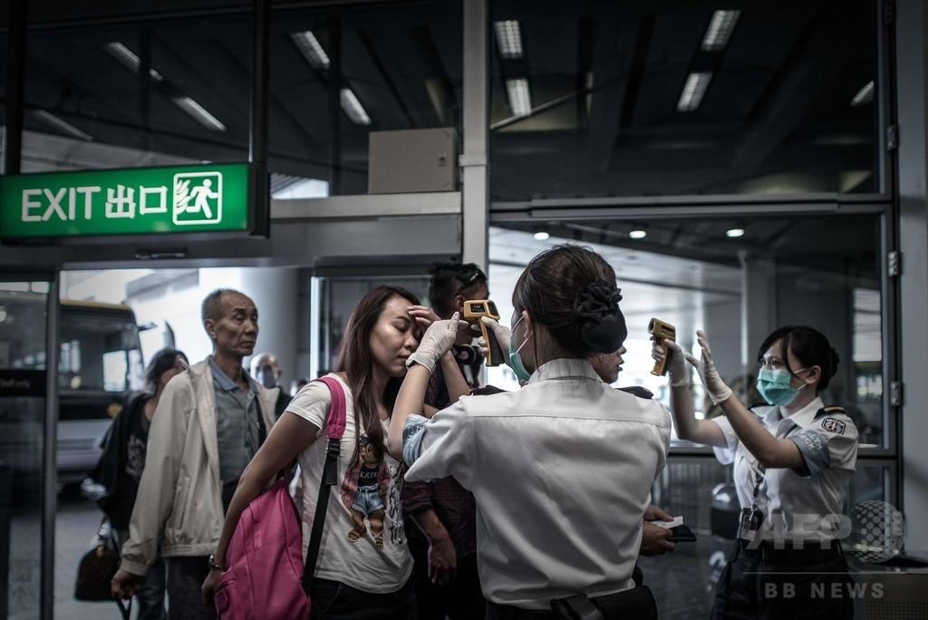 香港でMERS疑いの女性搬送、一時パニックに