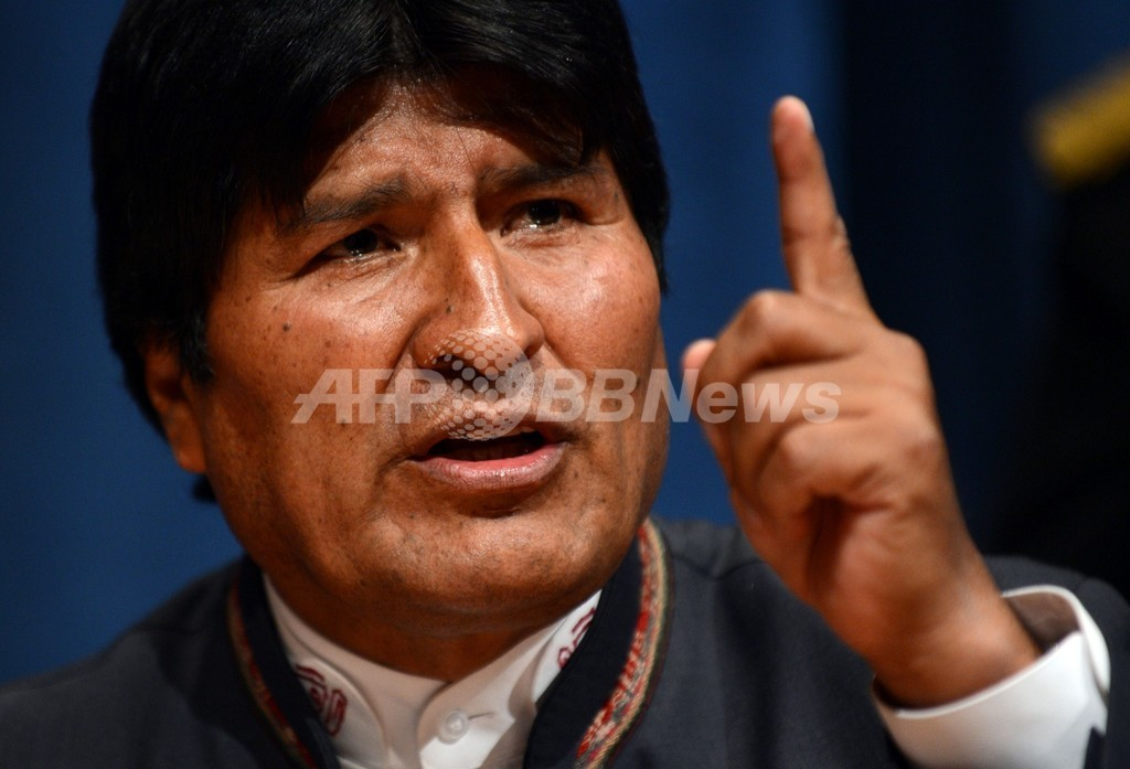 ボリビア 大統領
