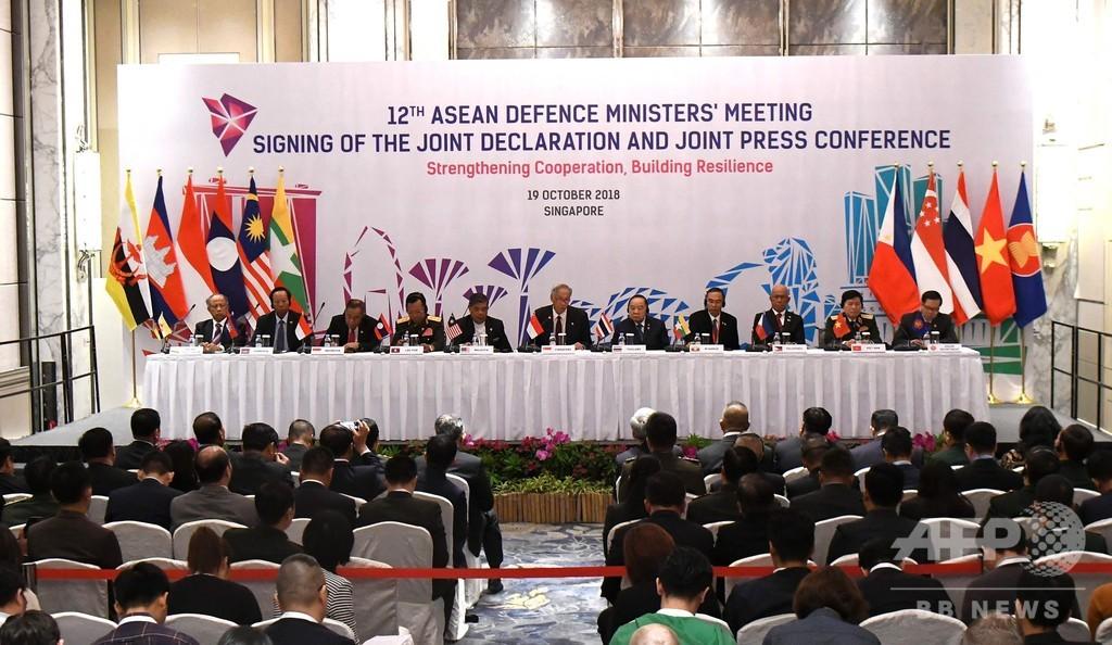 東南アジア諸国、中国と初の合同軍事演習へ 緊張緩和狙う