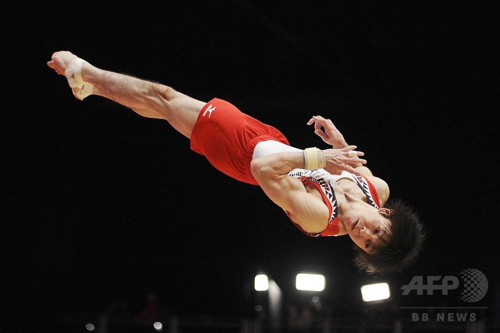 内村航平、世界体操で史上初の個人総合6連覇!
