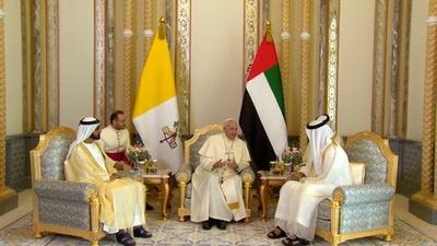 動画:ローマ法王、アラビア半島を歴史的初訪問