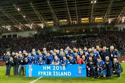 小国アイスランドが初のW杯出場決定、クロアチアは2位でPOへ