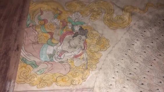 動画:大学教授と学生が3年かけ実物サイズの莫高窟第3窟を復元 甘粛