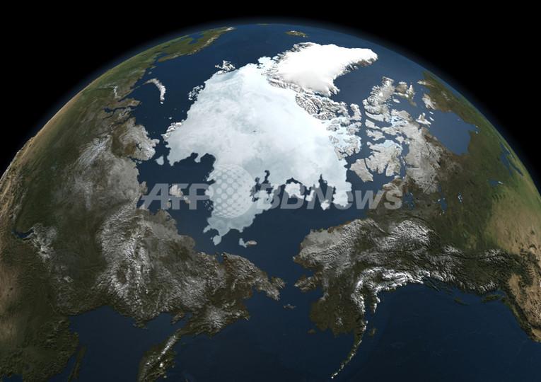 北極海氷喪失とCO2排出、2012年は過去最高を記録 国際報告