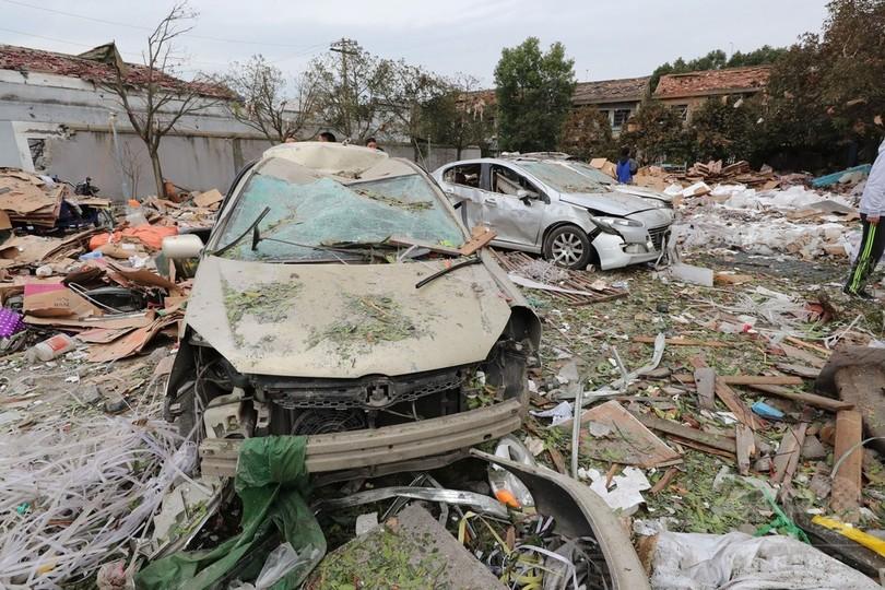 中国・寧波の大爆発、爆心は浄化槽 中国当局