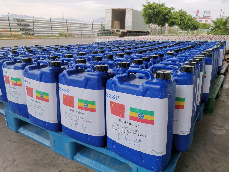 中国企業、エチオピアの新型コロナ対策を支援