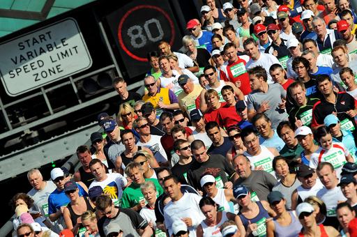 シドニーで恒例マラソン大会、7万人以上が参加
