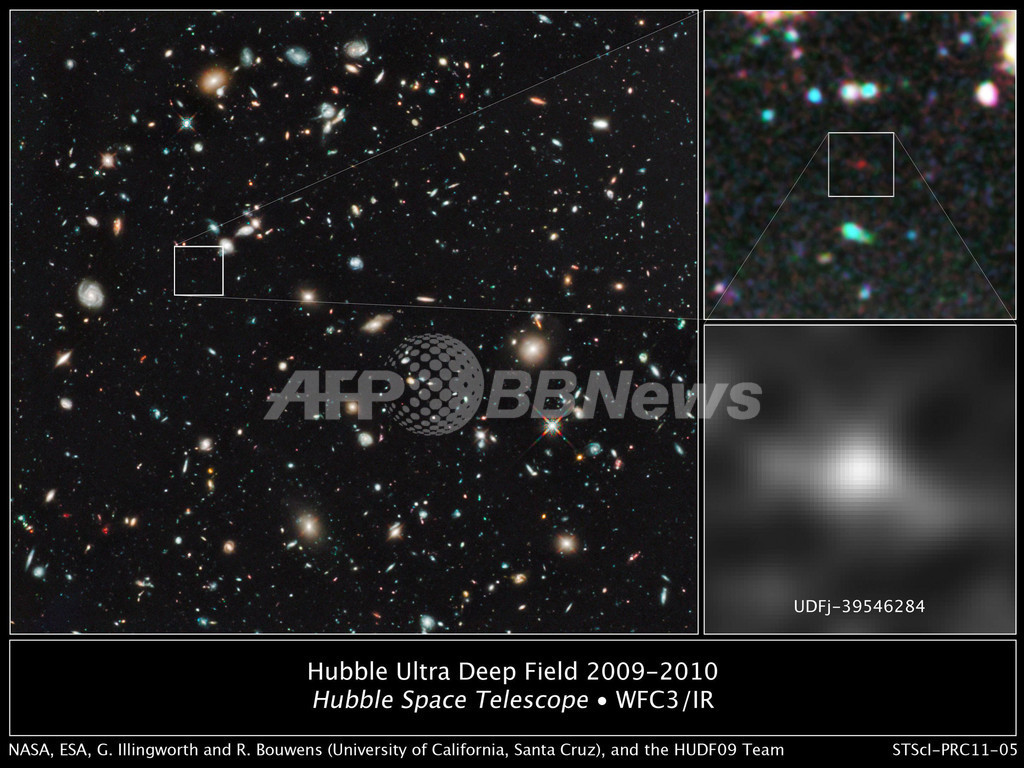 観測史上最古の銀河を観測、ビッグバン直後の133億年前
