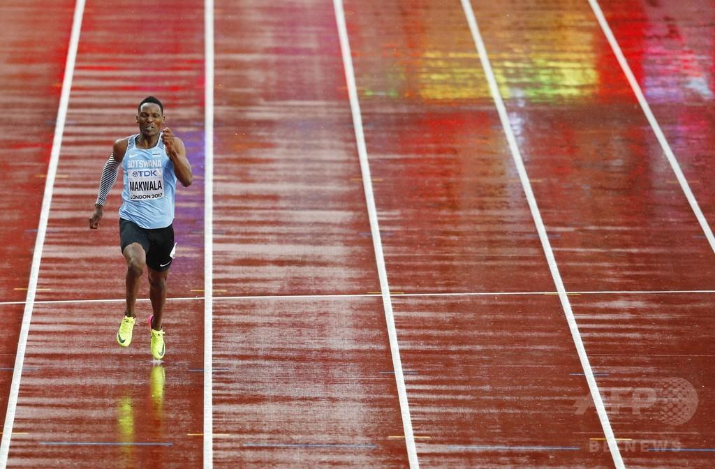 マクワラ、「怒りの走り」で200m決勝へ 胃腸炎隔離から復帰