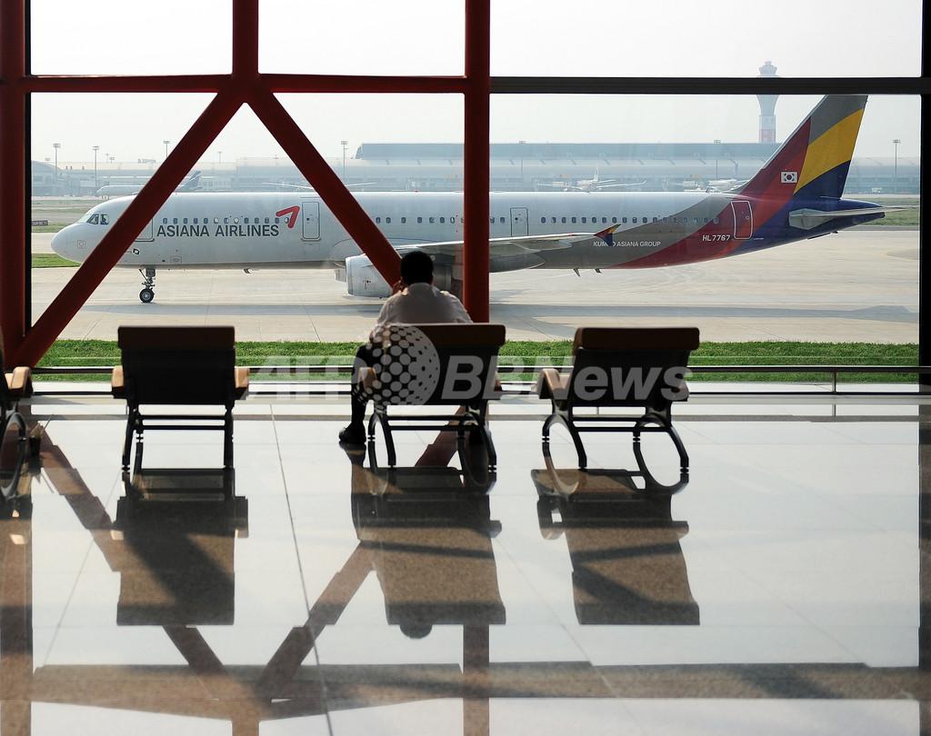 韓国軍、旅客機を北朝鮮機と誤認し発砲 被害なし