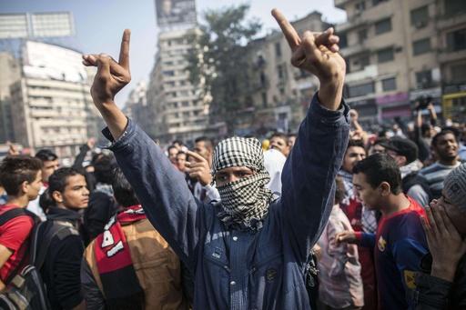エジプトでデモ規制法成立、違反者には禁錮5年も