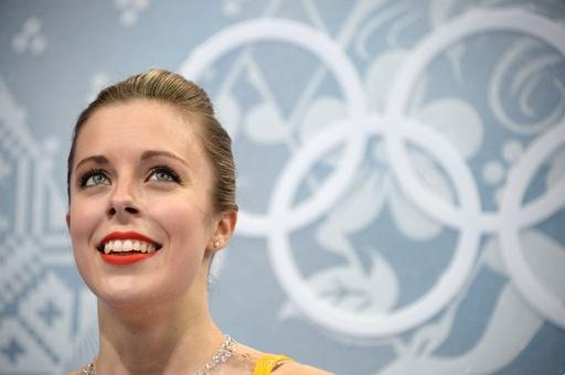 フィギュア女子シングルで7位のワグナー、ソチ五輪