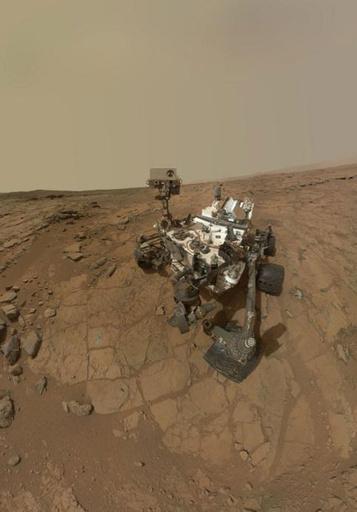火星探査車キュリオシティの最新「自分撮り」