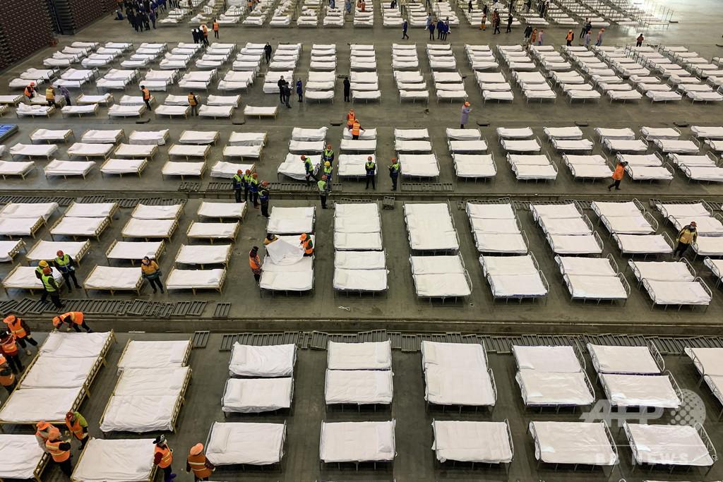 香港でコロナ対策の野営病院建設へ 中国が援助