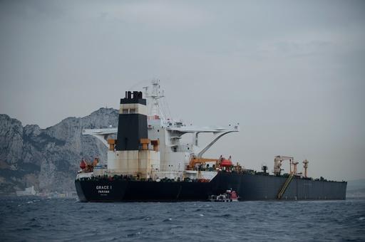 ジブラルタル、イランのタンカー解放命令 米国の要請に反し