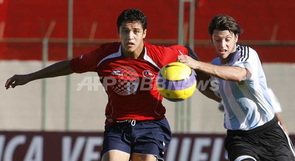 <サッカー 07南米ユース選手権>チリ アルゼンチンと引き分ける - パラグアイ