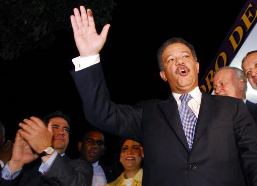 ドミニカ共和国大統領選、現職が再選
