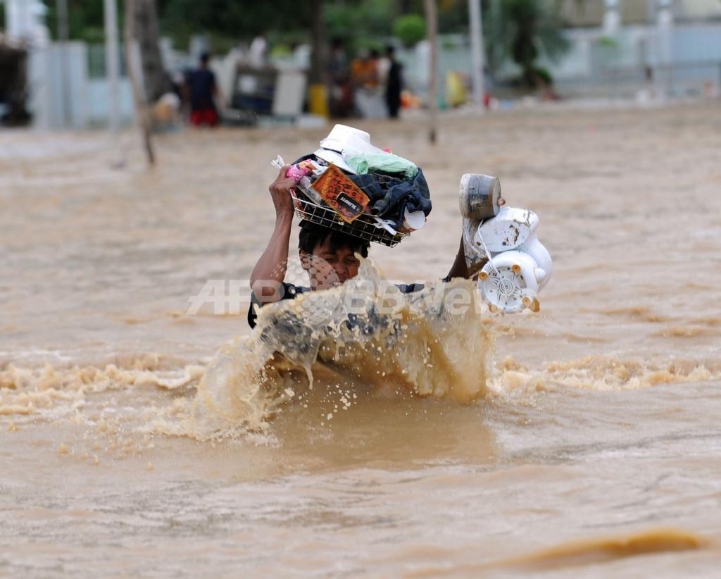 フィリピン北部で地滑り、死者181人 台風の死者540人超える