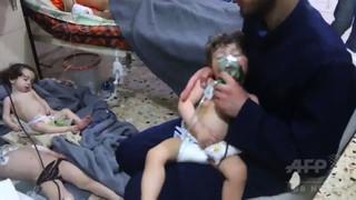 シリア毒ガス疑惑、OPCW調査団が現地入り 国営メディア報道