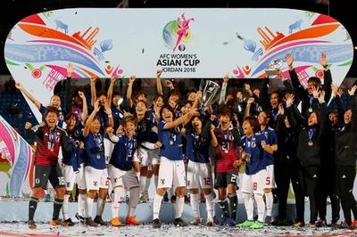なでしこがアジア杯連覇、横山の決勝弾でオーストラリア下す