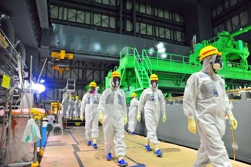 汚染水の処理装置で塩酸漏れ、運転を停止 福島第1原発