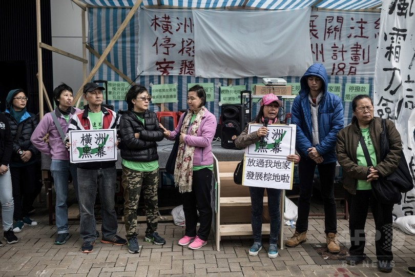 政府が立ち退き迫る香港の村、家を守る村人の闘い