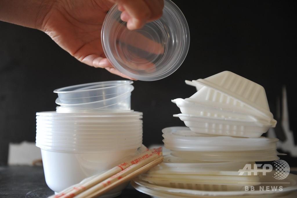 中国、樹脂関連製品の生産・販売を禁止へ