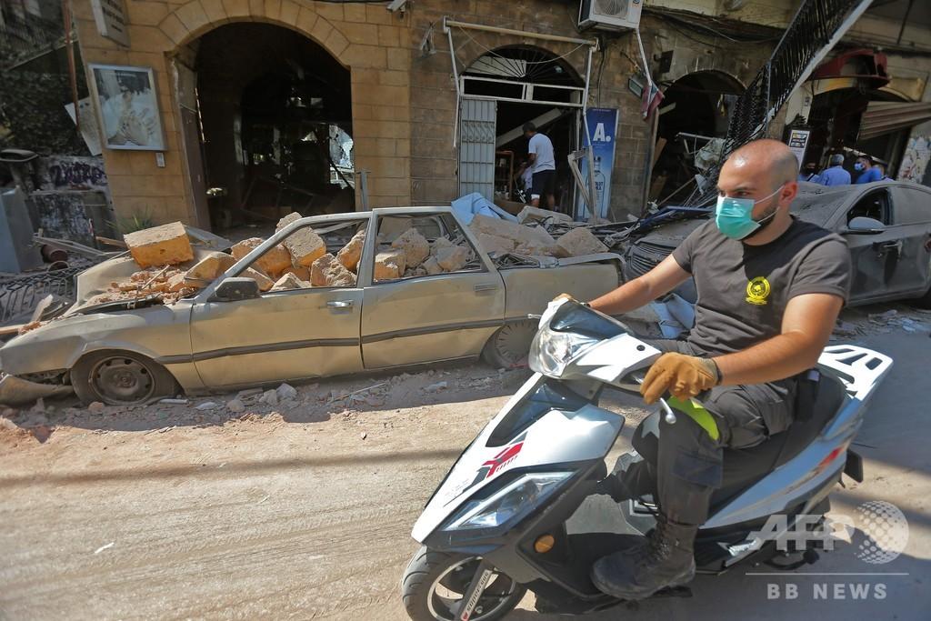 ベイルート爆発の発端は「疑惑の貨物」 古びた倉庫に6年間放置
