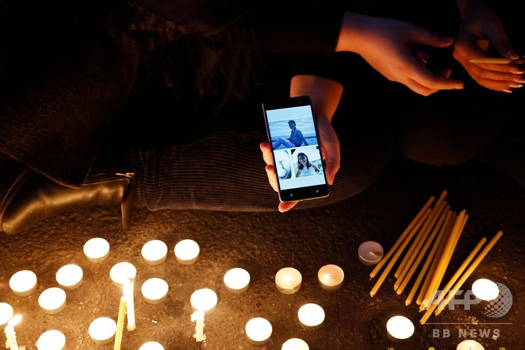 ウクライナ機撃墜めぐりイラン首都で抗議デモ トランプ氏はイラン国民を支持