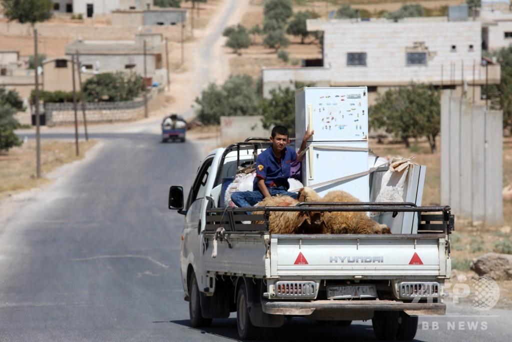 シリア内戦の死者36万人以上、約3分の1が民間人 監視団発表