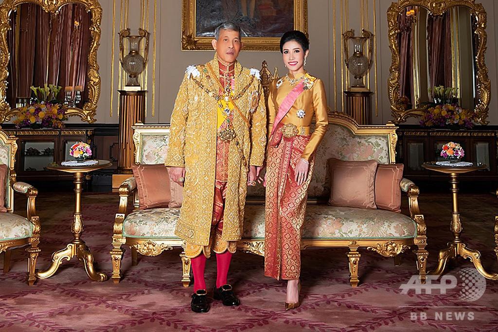 タイ国王、「不実」な34歳配偶者のあらゆる称号を剥奪