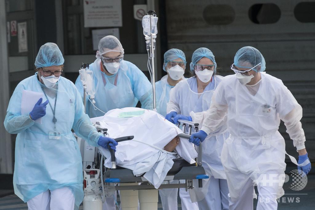仏の新型ウイルス死者、1日で27人増 計175人に