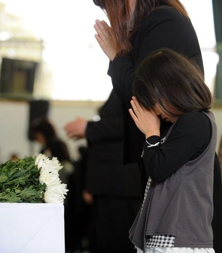 東日本大震災発生から2年、陸前高田市で追悼式