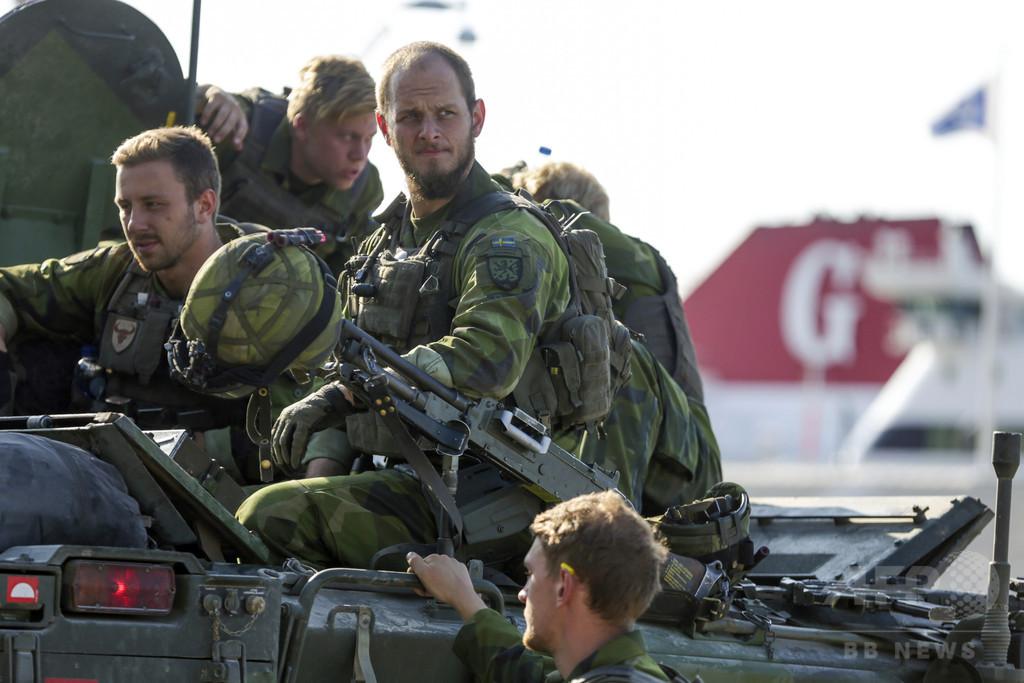 スウェーデン、徴兵制復活へ 8年ぶり、2018年から