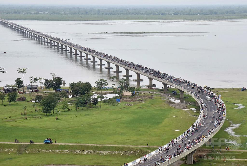 インド最長の橋、中国国境付近に開通