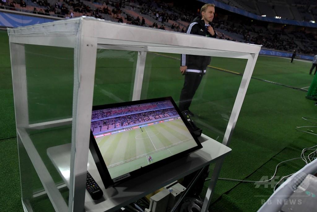 FIFA会長がビデオ判定に手応え、ロシア大会での採用に改めて意欲