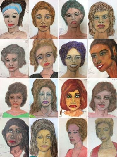 米連続殺人犯が描いた犠牲者の似顔絵、FBIが公開