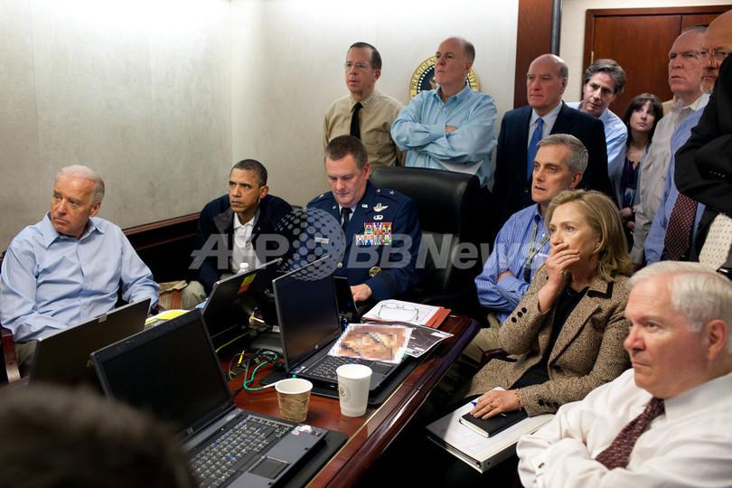 ビンラディン容疑者殺害、オバマ大統領らリアルタイムで作戦を監視