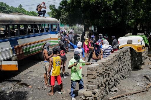 反大統領デモ続くニカラグア、新たに8人死亡 死者178人に