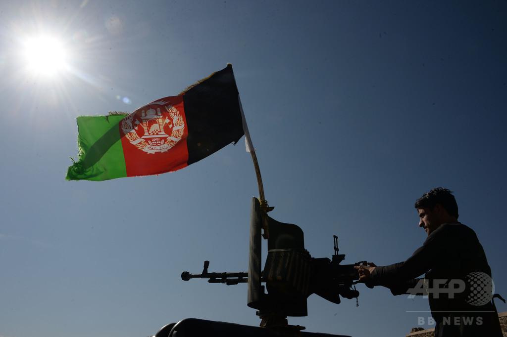 アフガンのIS、「空爆で弱体化」  駐留米軍