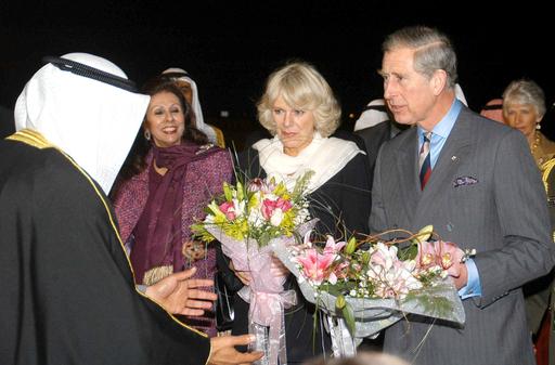 英国皇太子と夫人、湾岸諸国歴訪開始 - クウェート
