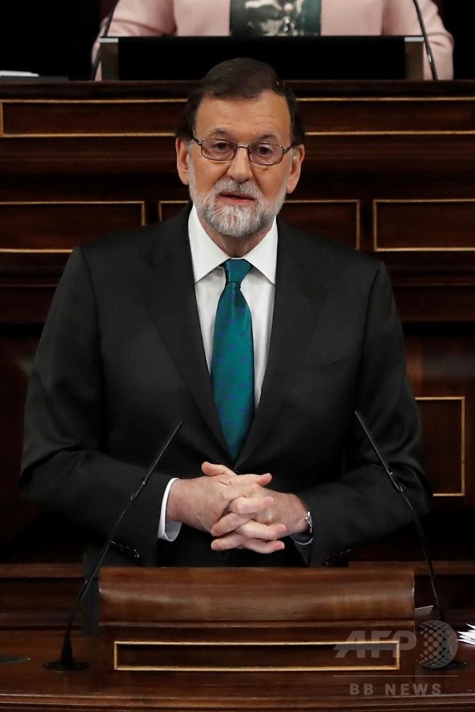 スペイン、首相不信任案可決の見通し 与党の汚職事件受け
