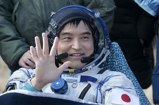 大西さんら宇宙飛行士3人、ISSから無事帰還 115日間の任務終え